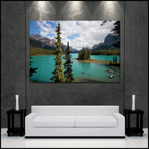 """Spirit Island"" Iconic Jasper Fine Art Gallery Wrapped Canvas Print"