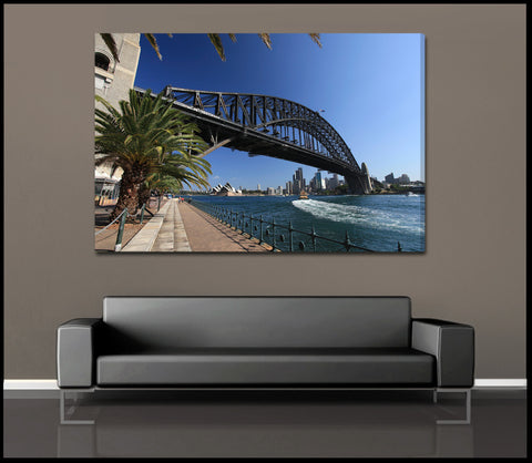 """Sydney Sunlight"" Fine Art Gallery Wrapped Canvas Print"
