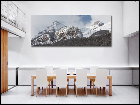 """The Big Beehive"" Lake Louise Fine Art Gallery Wrapped Canvas Print"