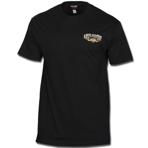 Orlando Chrome Pipes T-Shirt Black