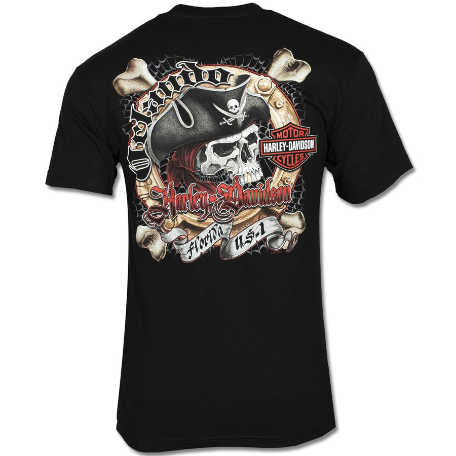 Orlando Chrome Pirate T-Shirt Black