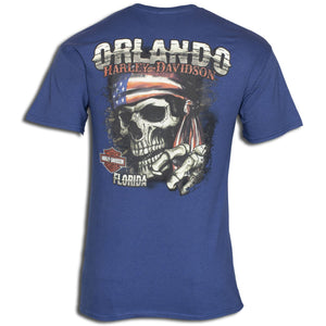 Orlando Doorag T-Shirt Blue