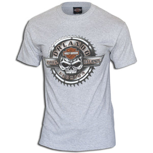 Orlando Sprocket Rocker T-Shirt Gray