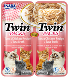 Twin Packs - Tuna & Chicken Recipe in Tuna Broth