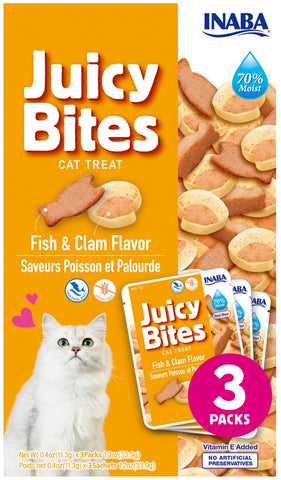 Juicy Bites Fish & Clam Flavor (FDM)