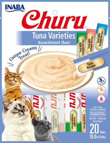 Churu Tuna Varieties Bag 20 Tubes