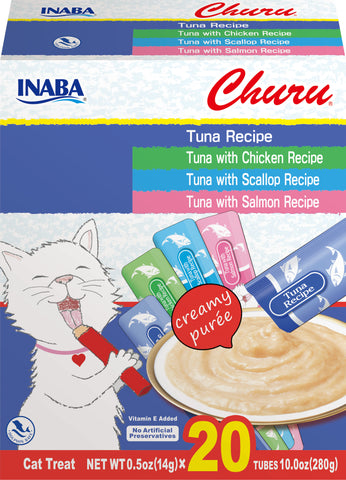 Churu Tuna Variety Box 20 Tubes