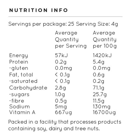 immunity nutrition content