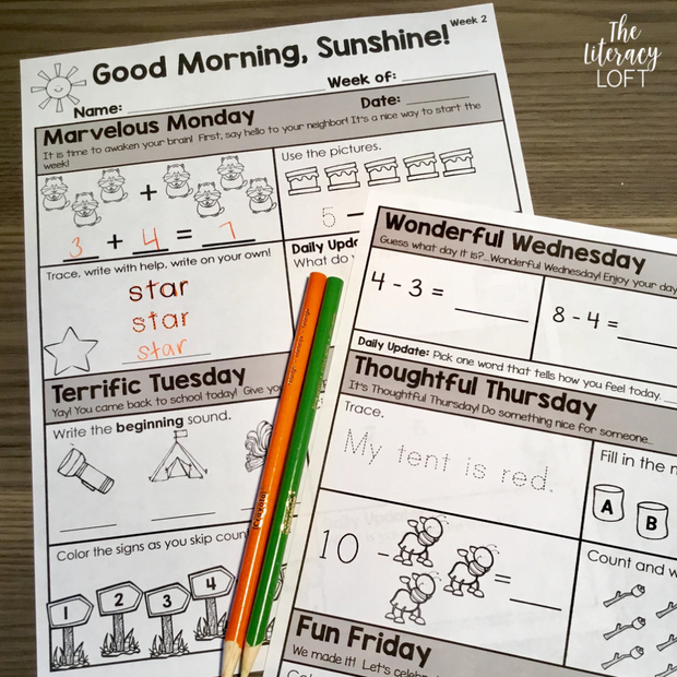 Math Morning Work 1st Grade {The Bundle} | Distance Learning | Google Slides