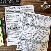 ELA + Math Morning Work 4th Grade {The Bundle} | Distance Learning | Google Slides