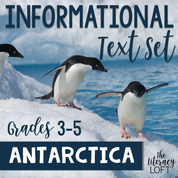Informational Text Set {Antarctica}