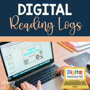 Digital Reading Logs | Distance Learning | Google Slides