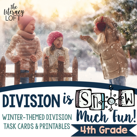 Division Task Cards {Winter-Themed}