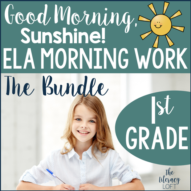 1st Grade ELA Morning Work