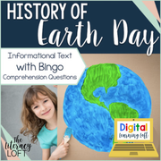 History of Earth Day Reading | Distance Learning | Google Slides