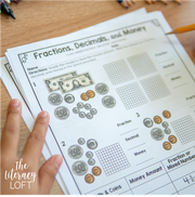 Fractions, Decimals, & Money