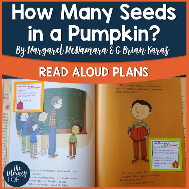 Read Aloud Plans for Pumpkin Math {How Many Seeds in a Pumpkin}