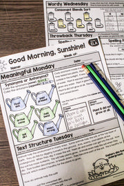 ELA Morning Work 2nd Grade {Bundle}