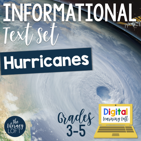 Informational Text Set {Hurricanes} | Distance Learning | Google Slides