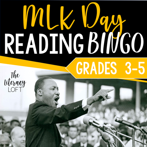 MLK Day Reading Bingo