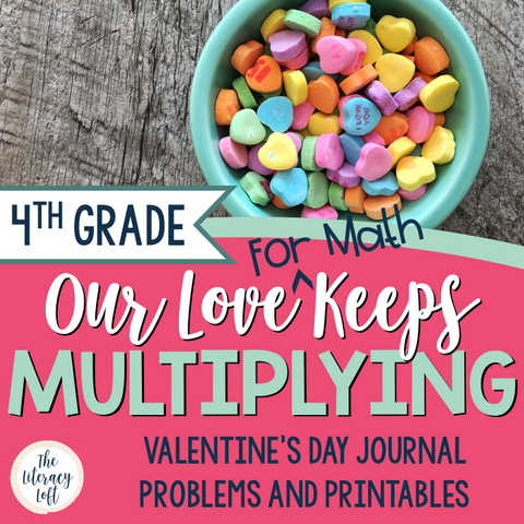Multiplying Fractions {Valentine's Day Math}