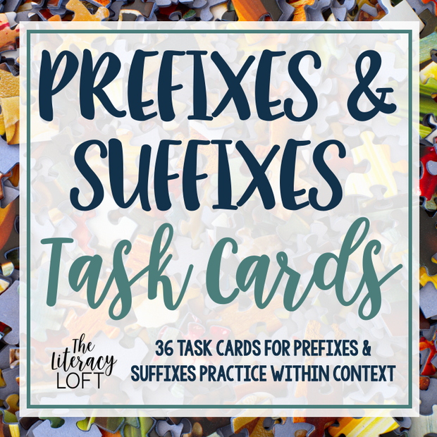 Prefixes and Suffixes Task Cards | Distance Learning | Google Slides and Forms