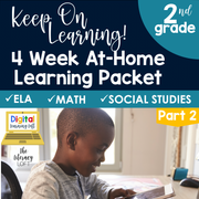 At Home Learning Packet Part 2 (2nd Grade) | Distance Learning | Google Slides