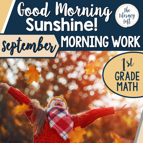 Morning Work 1st Grade {September}