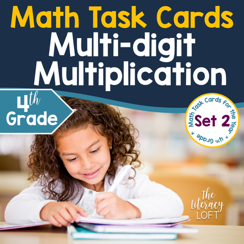 Multi-digit Multiplication (4th Grade) Google Slides & Forms Distance Learning