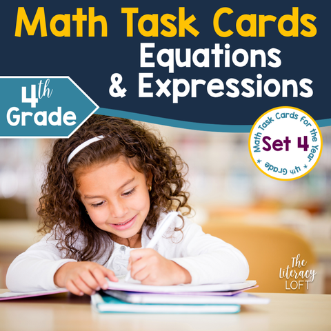 Equations & Expressions (4th Grade) Google Slides & Forms Distance Learning