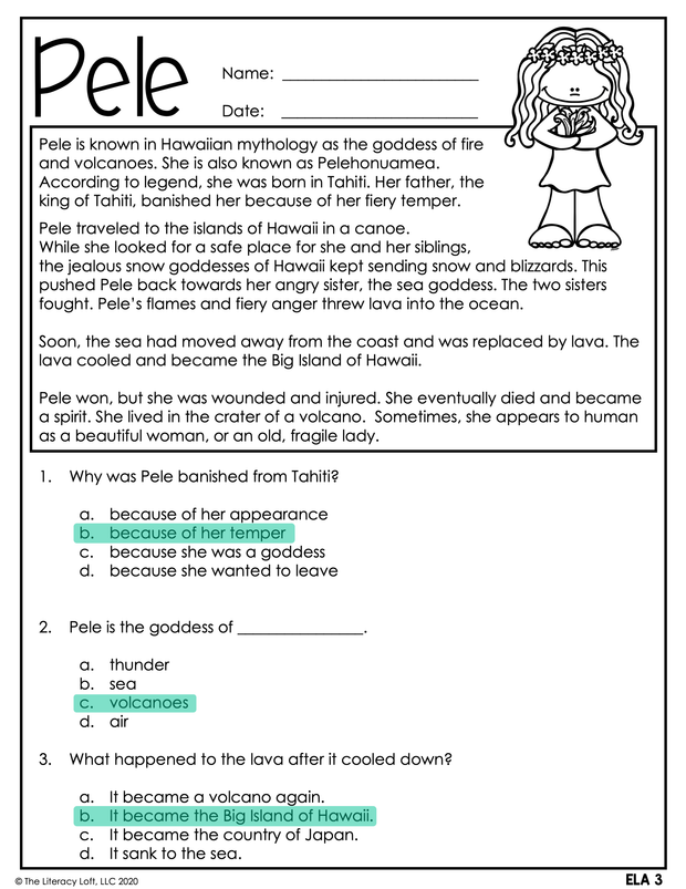 Summer Learning Packet (4th Grade) Google Slides + Print