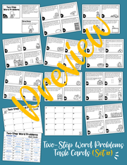 Math Task Cards for the Year Bundle (3rd Grade) | Google Slides & Forms
