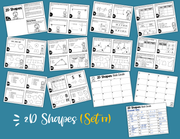 2D Shapes Task Cards (4th Grade)