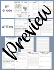 Opinion Text Set (Bats) | Distance Learning | Google Slides