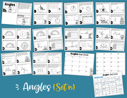 Angles Math Task Cards (4th Grade) Google Slides and Forms Distance Learning