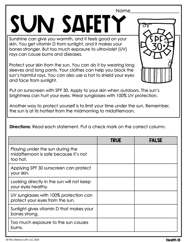 Summer Learning Packet (5th Grade) Google Slides + Print