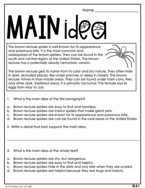 October Learning Packet 4th Grade | Google Slides + Print