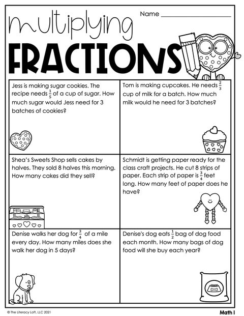February Learning Packet 4th Grade I Google Slides and Print