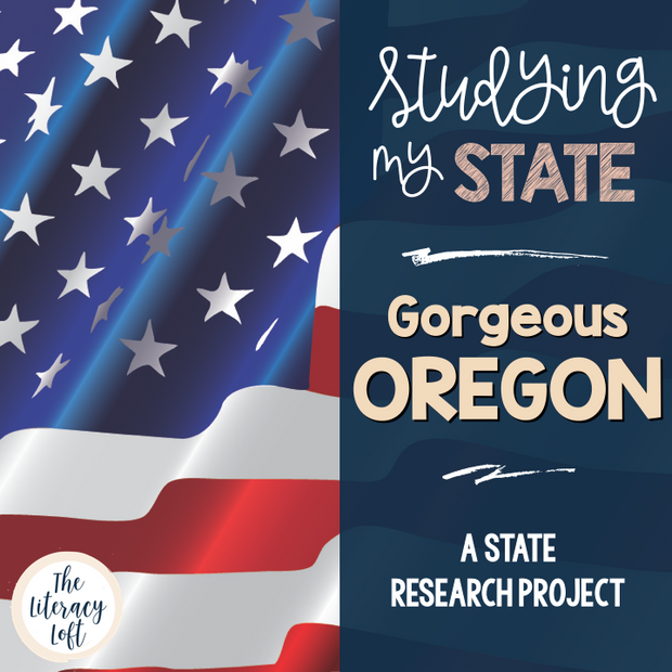 State Research & History Project {Oregon}