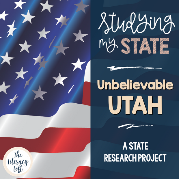 State Research & History Project {Utah}
