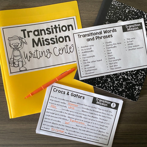 Writing Centers (Volume 1 Informational & Opinion)