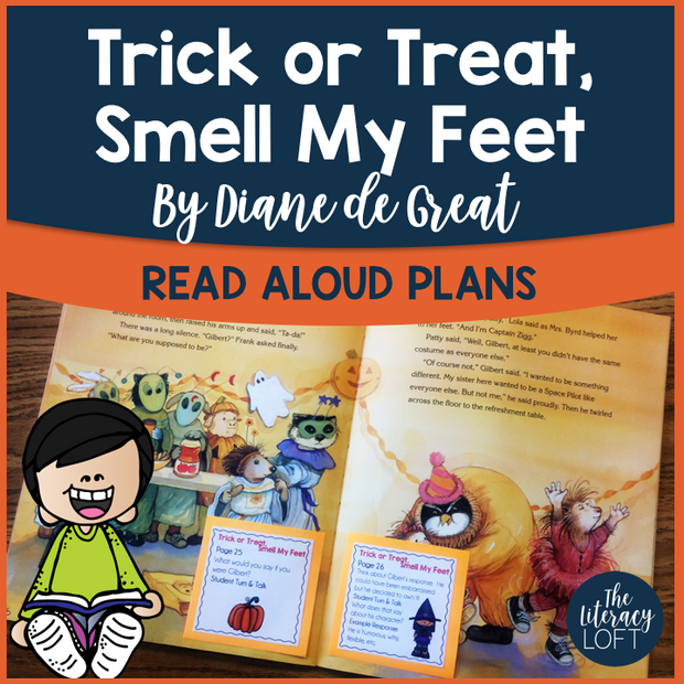 Read Aloud Plans for Halloween Text {Trick or Treat, Smell My Feet}