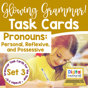 Pronouns Task Cards | Distance Learning | Google Slides & Forms