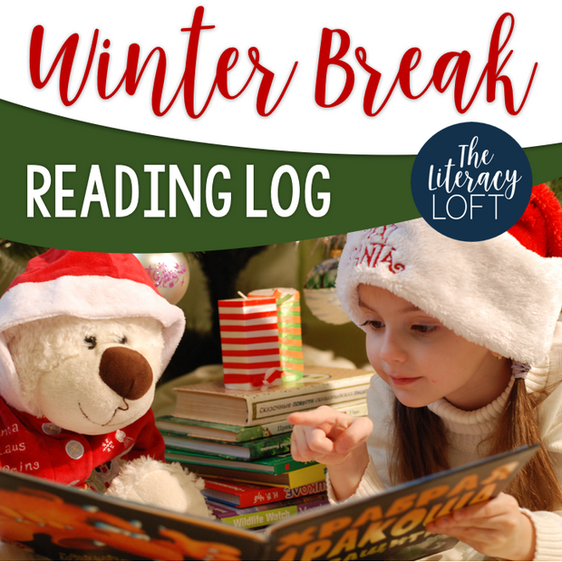 Winter Break Reading Log - Cozy up with a good book!
