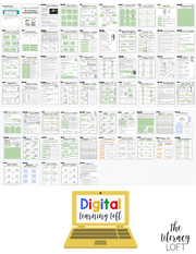 4 Week At Home Learning Packet (3rd Grade) DIGITAL + PRINT OPTION