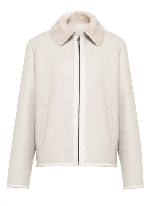SALE –  Short shearling jacket