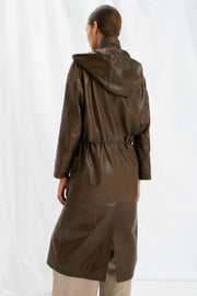 SALE – Leather parka