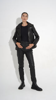 SALE – Leather biker jacket