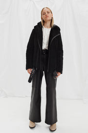 SALE – Reversible shearling coat