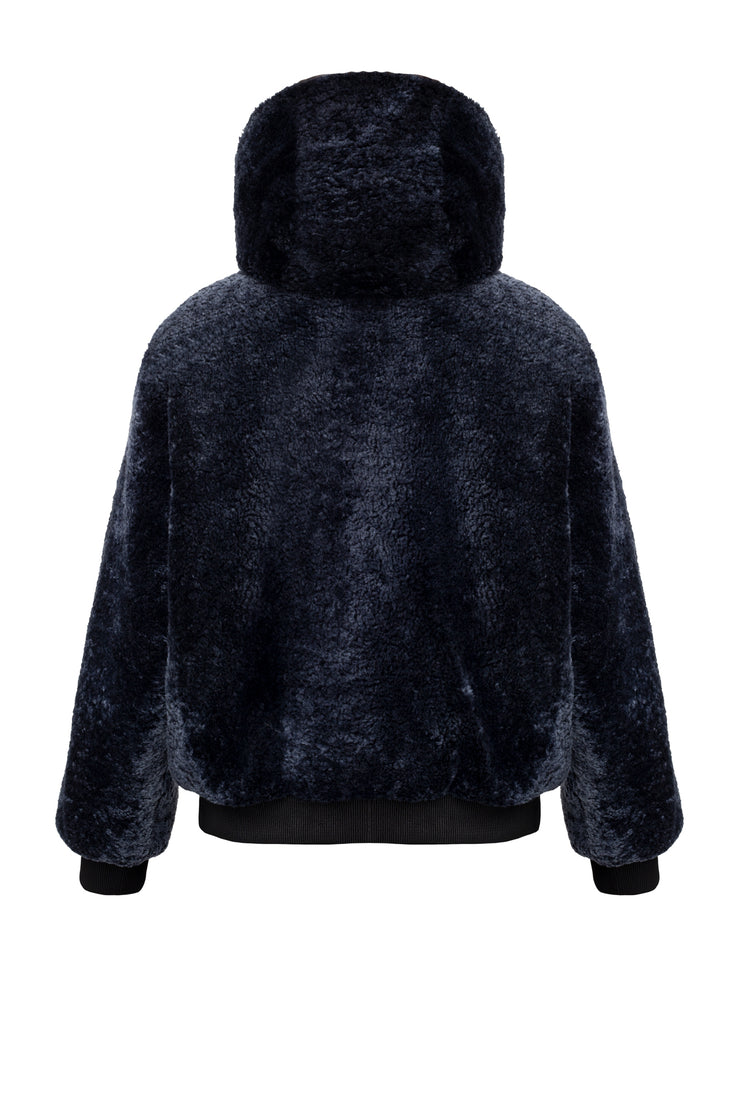 SALE – Reversible shearling bomber